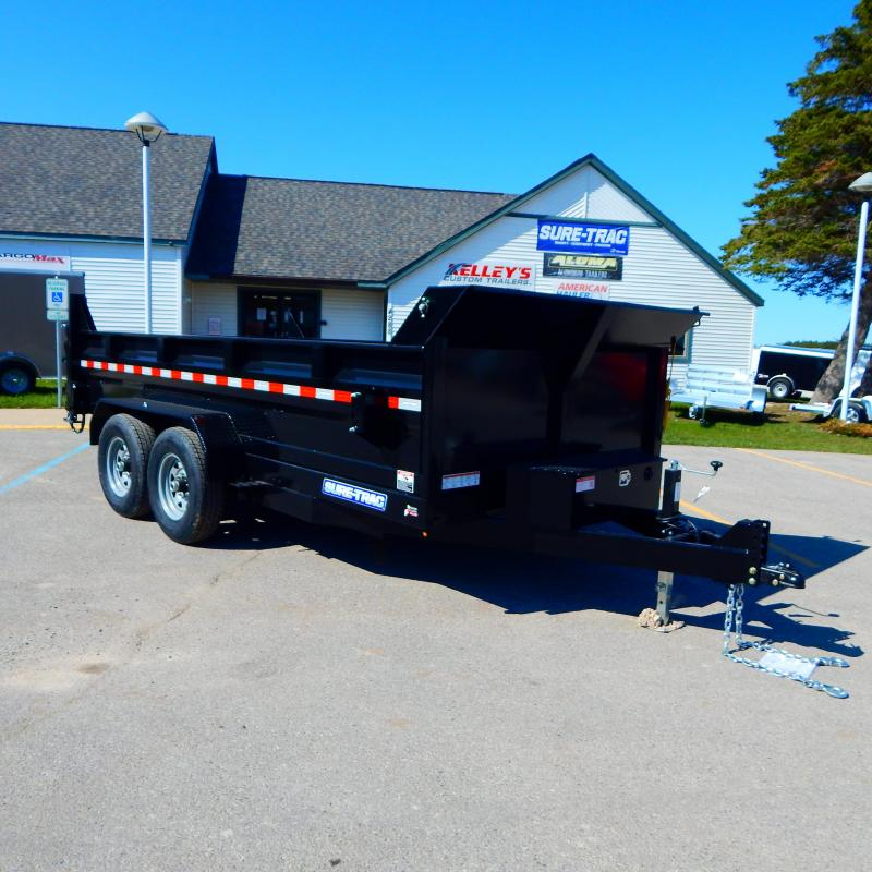2021 Sure-Trac 7X14 HD Low Profile Dump Trailer