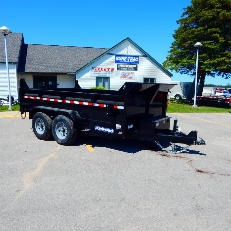 2021 Sure-Trac 7x12 HD Low Profile Dump Trailer