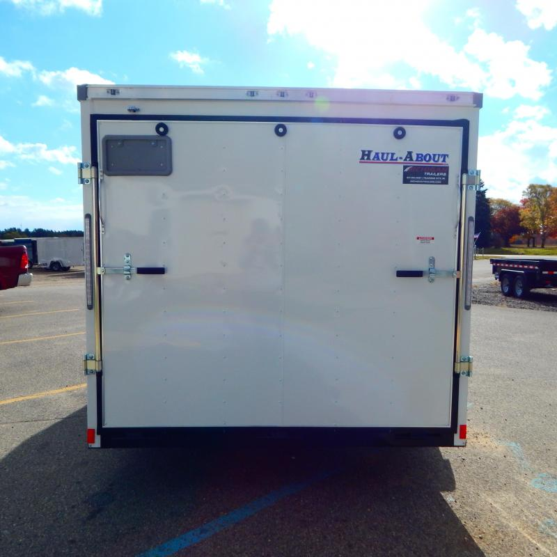 2021 Haul-About 7x14 7k Bobcat Enclosed Cargo Trailer