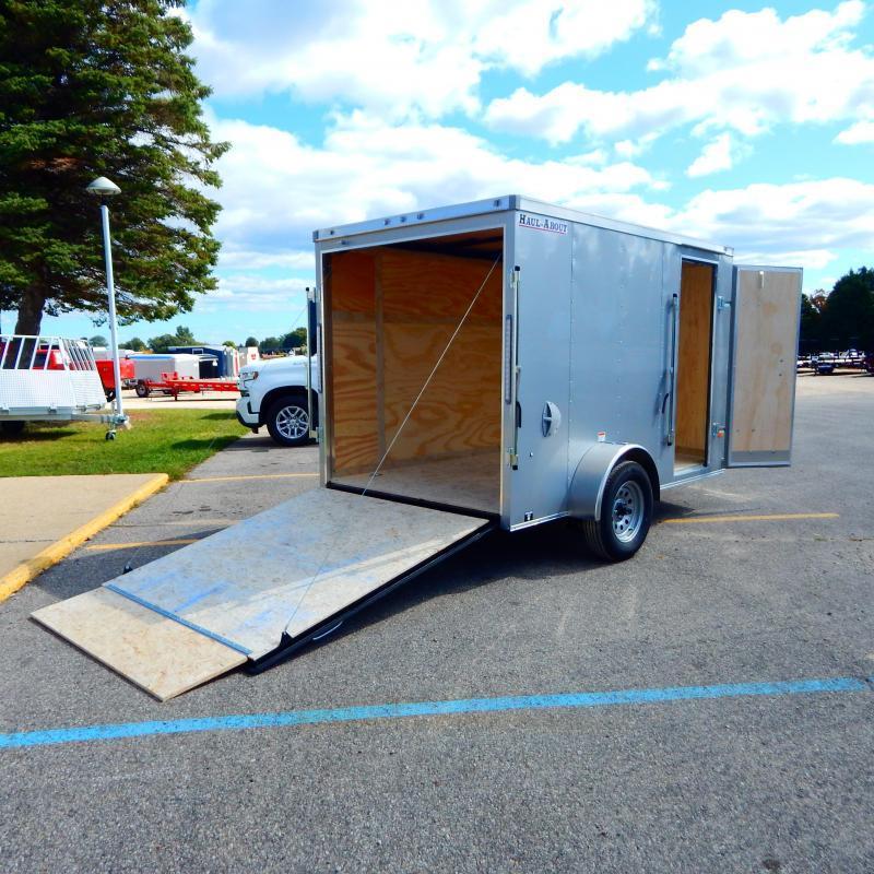 2020 Haul-About 6x10 3k Bobcat Enclosed Cargo Trailer