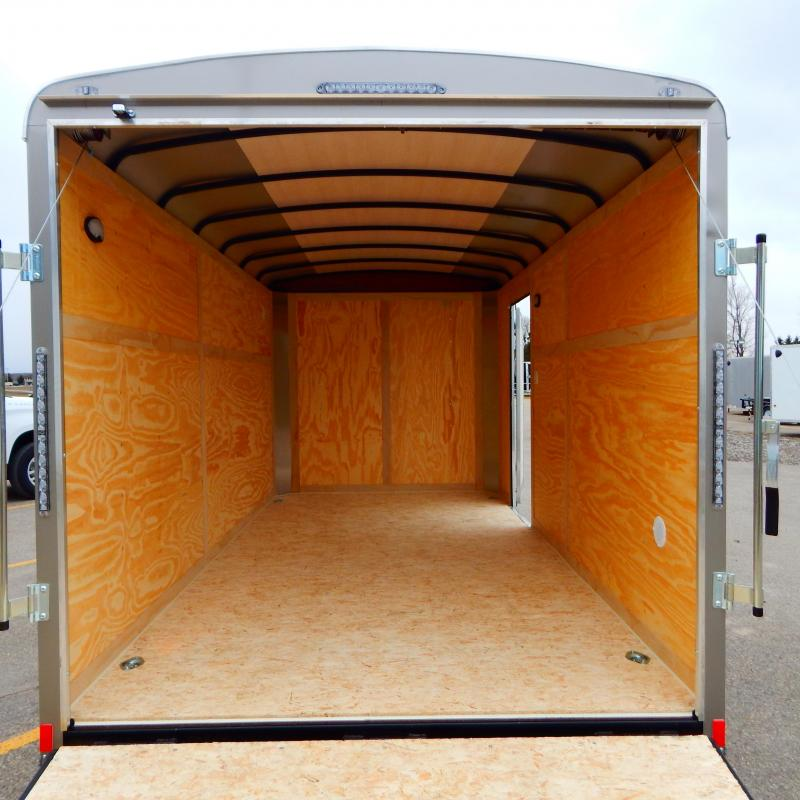 2021 Haul-About 7x14 7k Lynx Enclosed Cargo Trailer