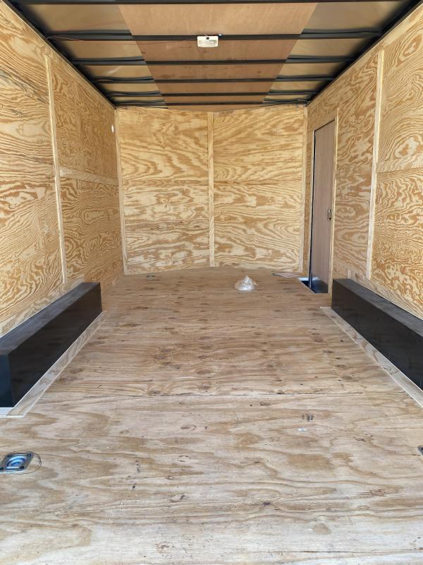 2020 Salvation Trailers 8.5X18TA-WHITE Enclosed Cargo Trailer
