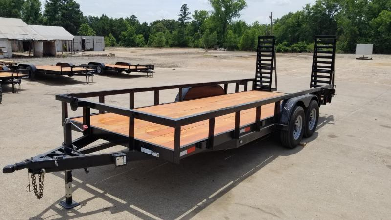 2021 Salvation Trailers 83X20 Equipment Trailer