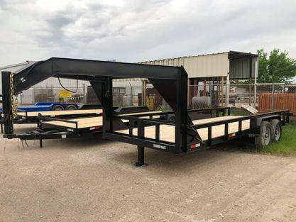 2021 Other GOOSENECK 83X20 Equipment Trailer