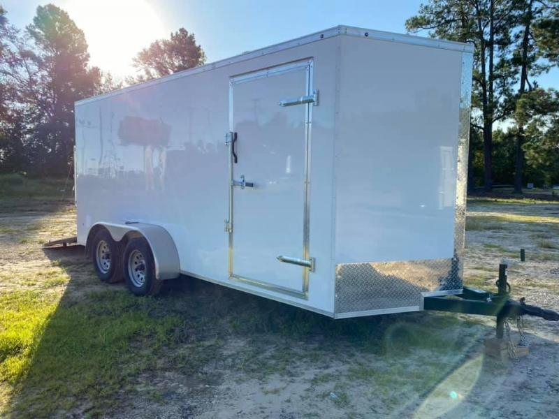 7X16 Enclosed Cargo Trailer