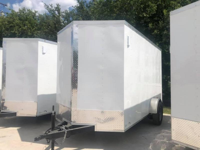 2021 6X12 Cargo trailer Enclosed Cargo Trailer