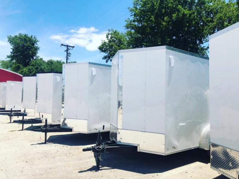 2021 6X12 Cargo trailer Enclosed Cargo Trailer