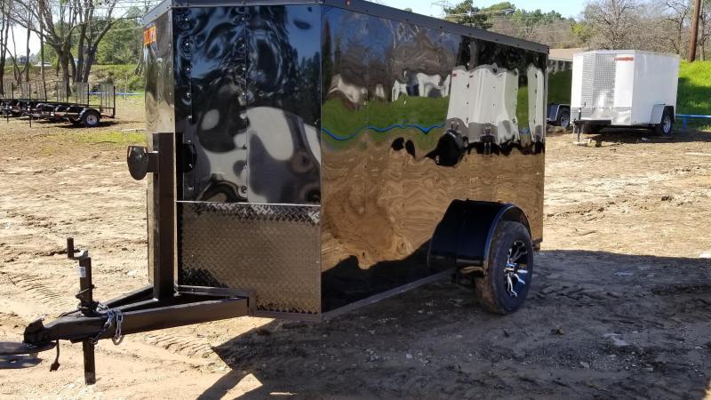 Trailers 5X10 Enclosed Cargo Trailer