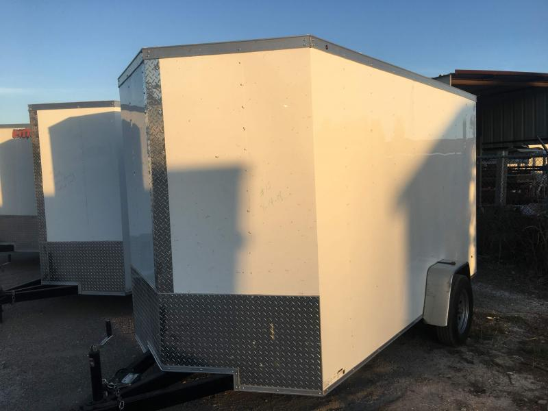 2021 6X12SA Enclosed Cargo Trailer