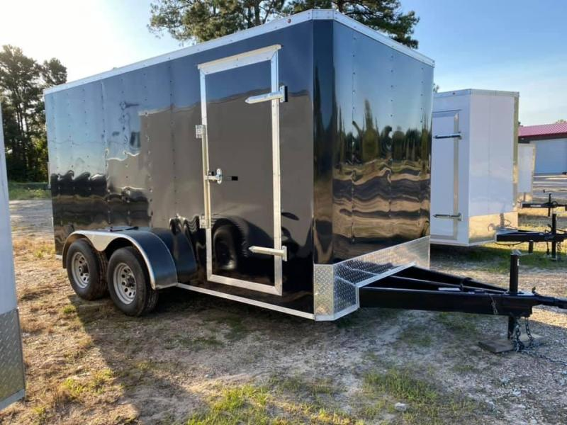2021 Salvation Trailers 2021 7X14 Box Enclosed Cargo Trailer