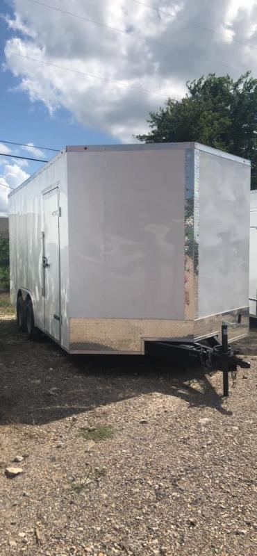 2021  8.5X20 ENCLOSED Enclosed Cargo Trailer