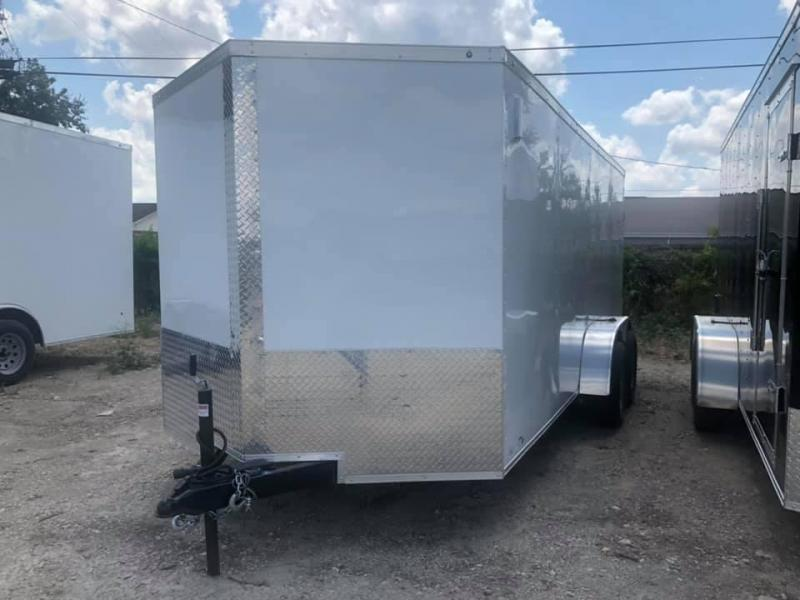 2021 8.5X18TA Enclosed Cargo Trailer
