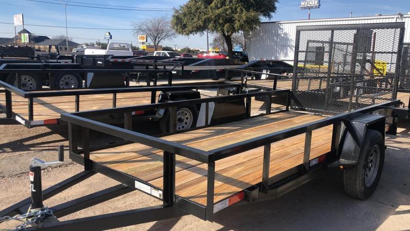 2021 UTILITY 78X12 W/ GATE Utility Trailer