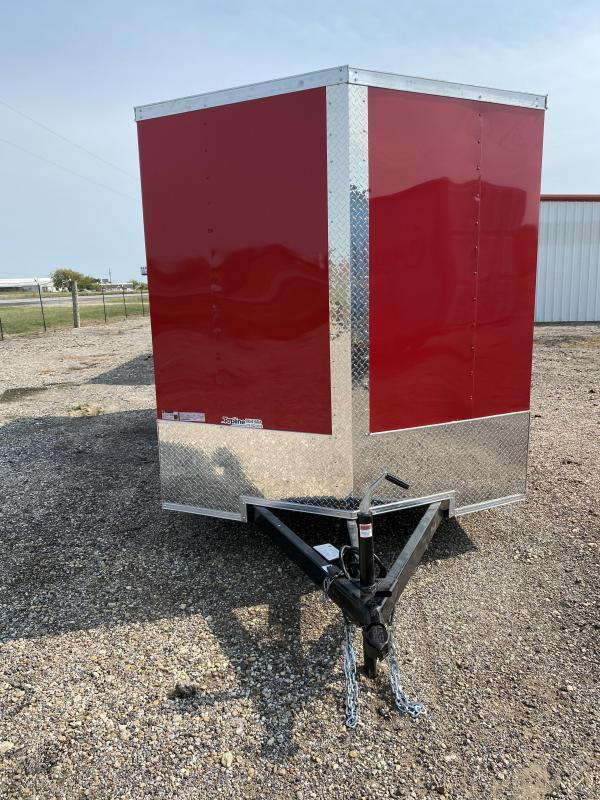 2021 Salvation Trailers 7x16TA Enclosed Cargo Trailer
