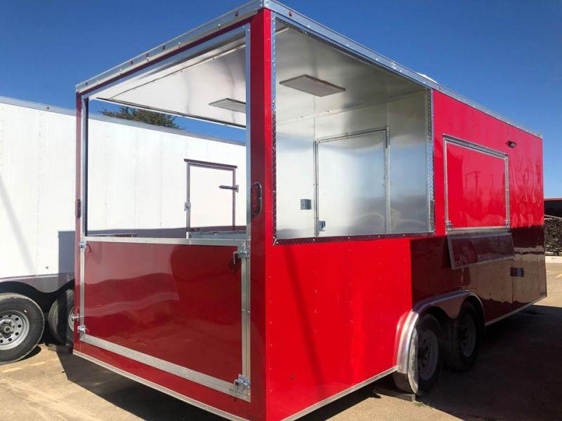2021 BBQ porch trailer Vending / Concession Trailer