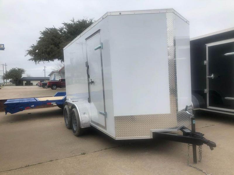 2021 SALVATION 7X12 ENCLOSED Enclosed Cargo Trailer