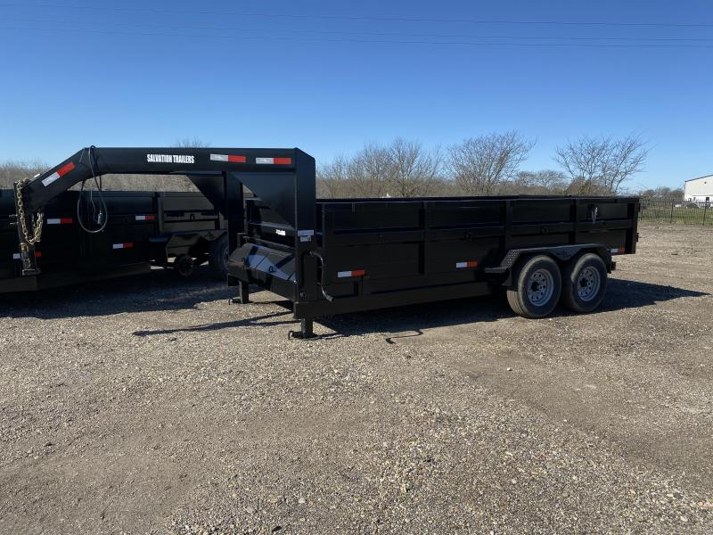 2020 Salvation Trailers 7X16TA DUMP Dump Trailer