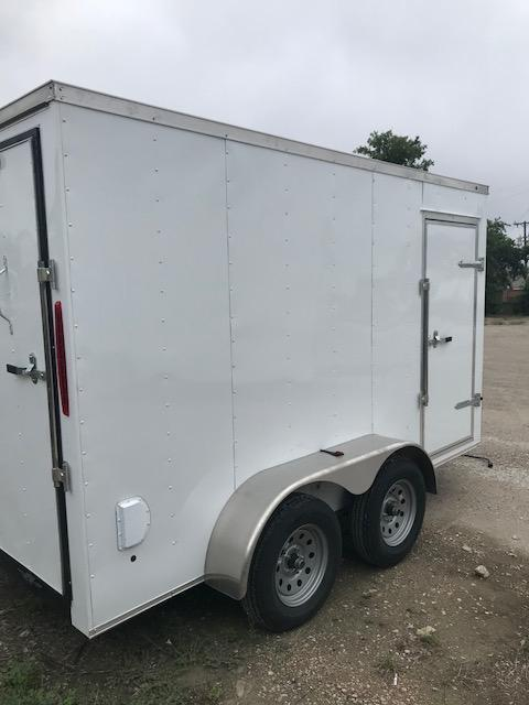 2021 Salvation Trailers 6x12 Enclosed Cargo Trailer