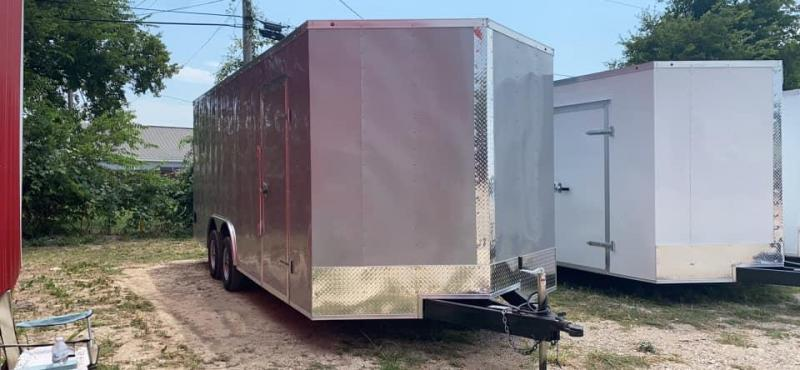 2021 Other 8.5X20 SILVER CARGO Enclosed Cargo Trailer