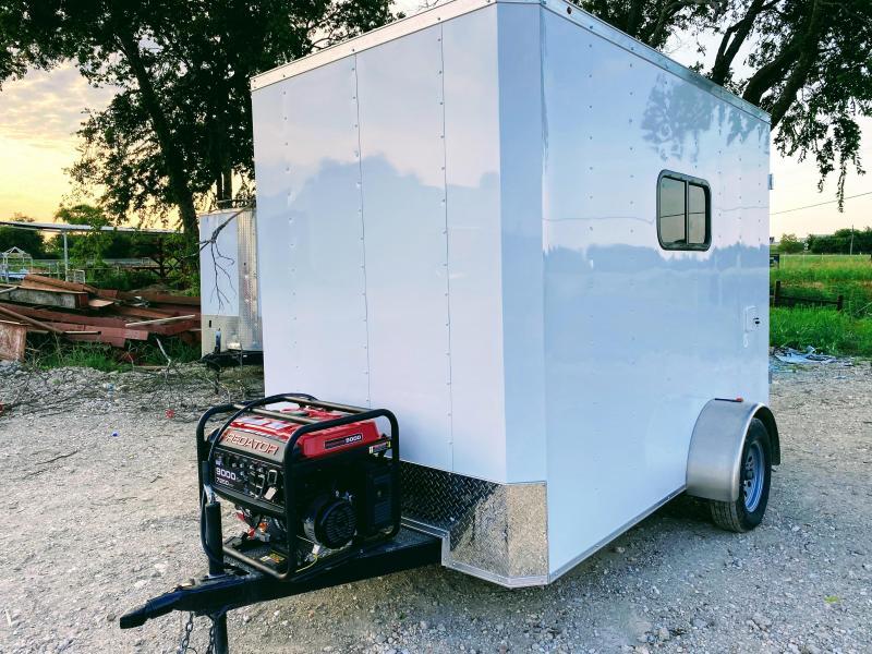 6X10SA Texas Mobile Dog Grooming Trailer