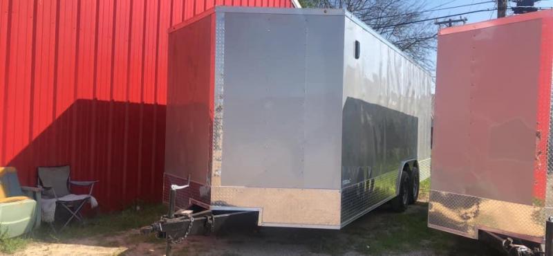 2021 SALVATION Cargo trailer 8.5x20 Enclosed Cargo Trailer