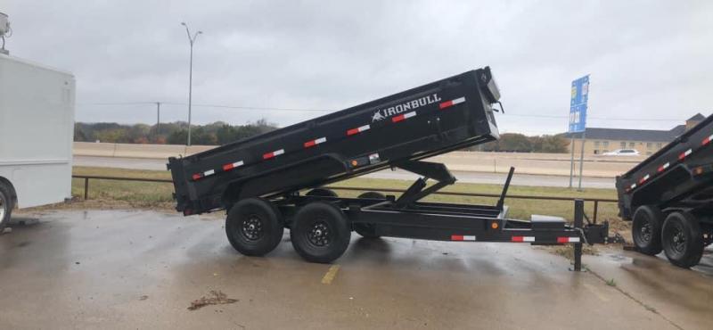 2021 Iron Bull HYDRAULIC DUMP TRAILER 7X14 Dump Trailer