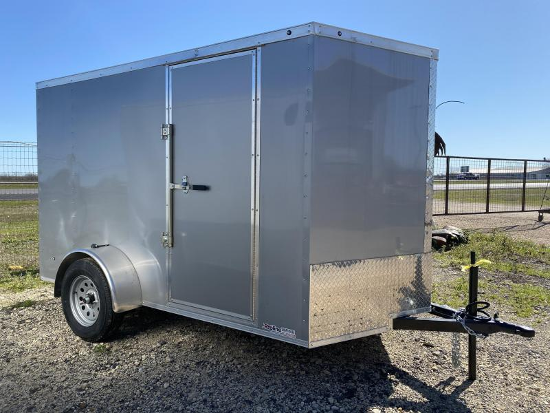2021 Salvation Trailers 6X12SA- SILVER Enclosed Cargo Trailer