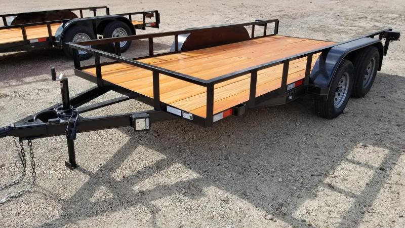 2019 Salvation Trailers 77X14 Utility Trailer