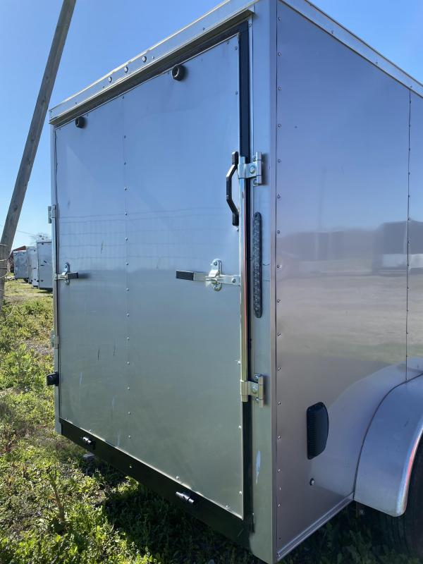 2020 Salvation Trailers 6X12TA-SILVER Enclosed Cargo Trailer