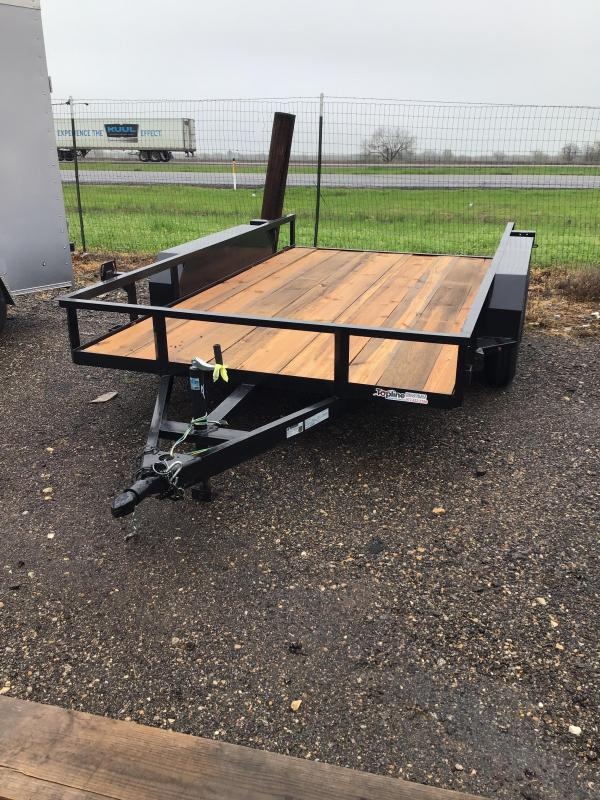 2020 Salvation Trailers 12X77TA Utility Trailer