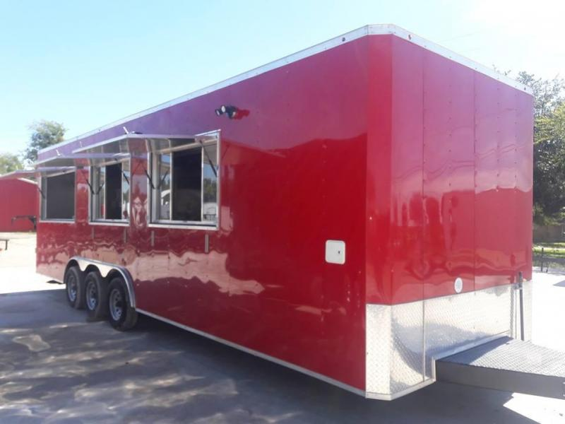 2021 SPECIAL BUILD 8.5x28 Vending / Concession Trailer