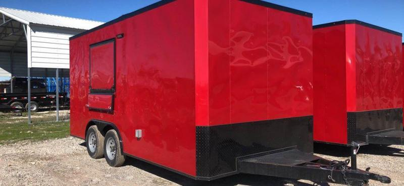 2021 Other 8.5X16 CONCESSION Vending / Concession Trailer