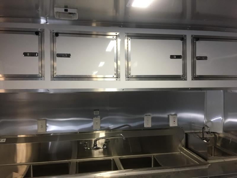 8.5X16TA Food Concession Vending / Concession Trailer