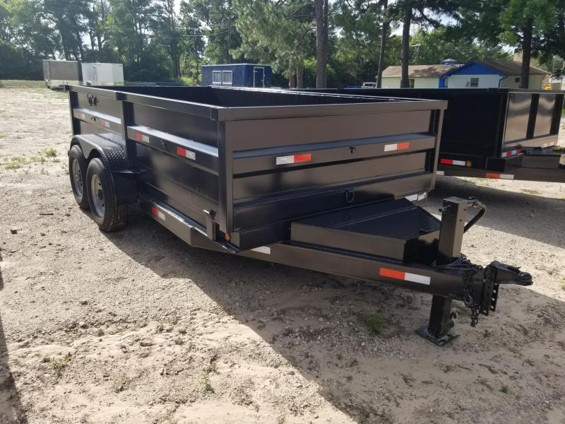 2021 Salvation Trailers 7X14 Dump Trailer