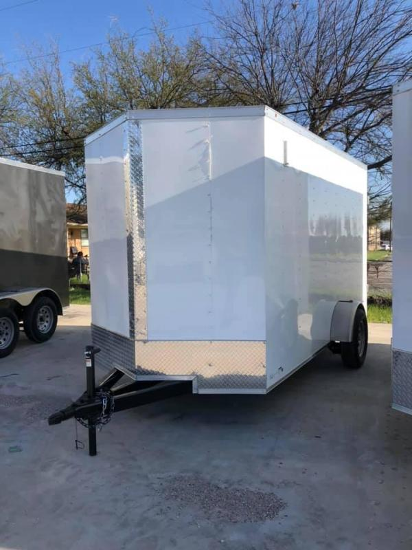 2021 Salvation Trailers 6X10 SA- SILVER Enclosed Cargo Trailer