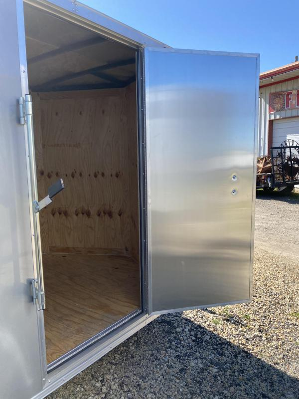 2020 Salvation Trailers 6X10 SA- SILVER Enclosed Cargo Trailer