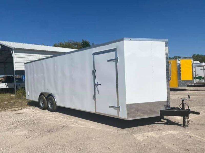 2021 SALVATION ENCLOSED TRAILER 8.5X24 Enclosed Cargo Trailer