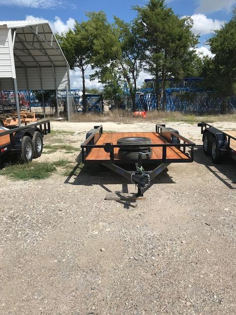 2020Salvation Trailers 78x16TA Equipment Trailer