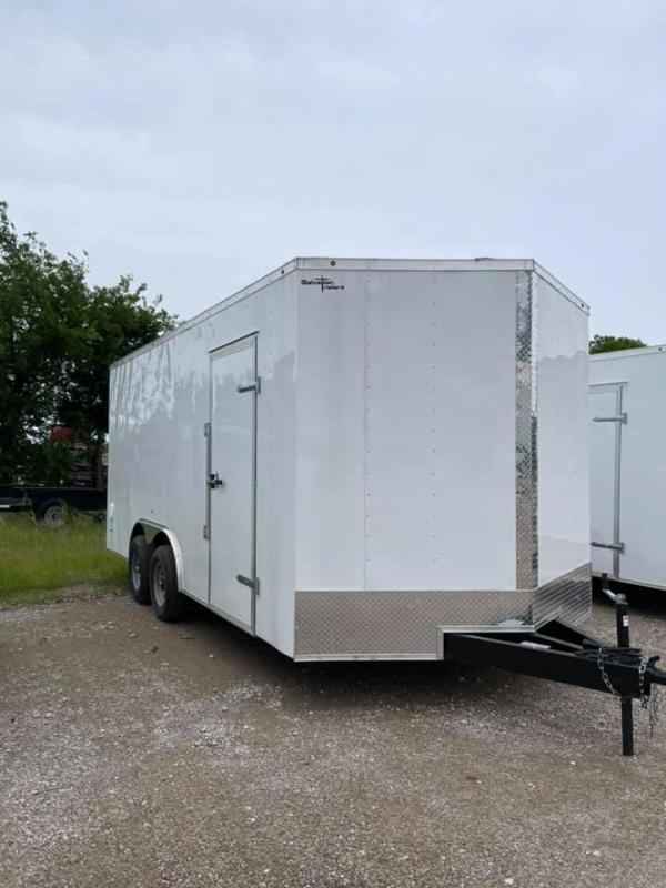 2022 Cargo trailer 8.5x18 Enclosed Cargo Trailer