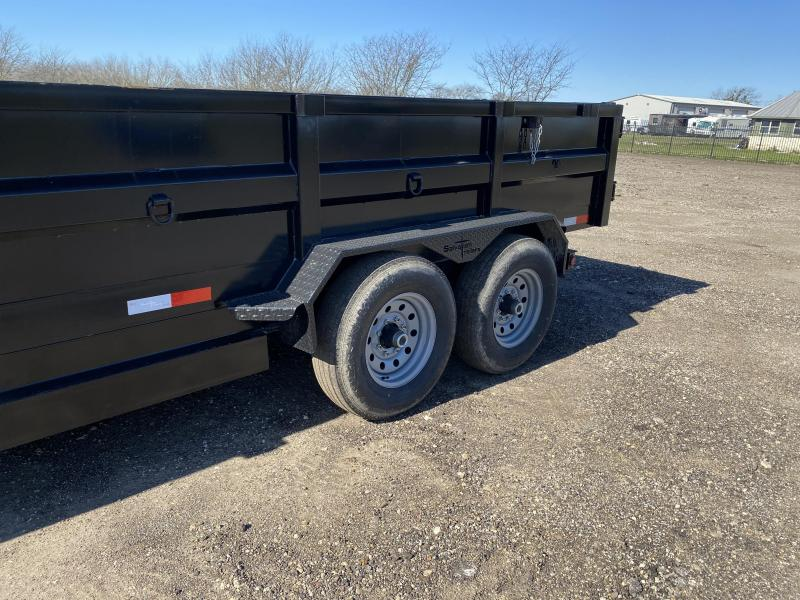 2020 Salvation Trailers 7X14TA DUMP Dump Trailer