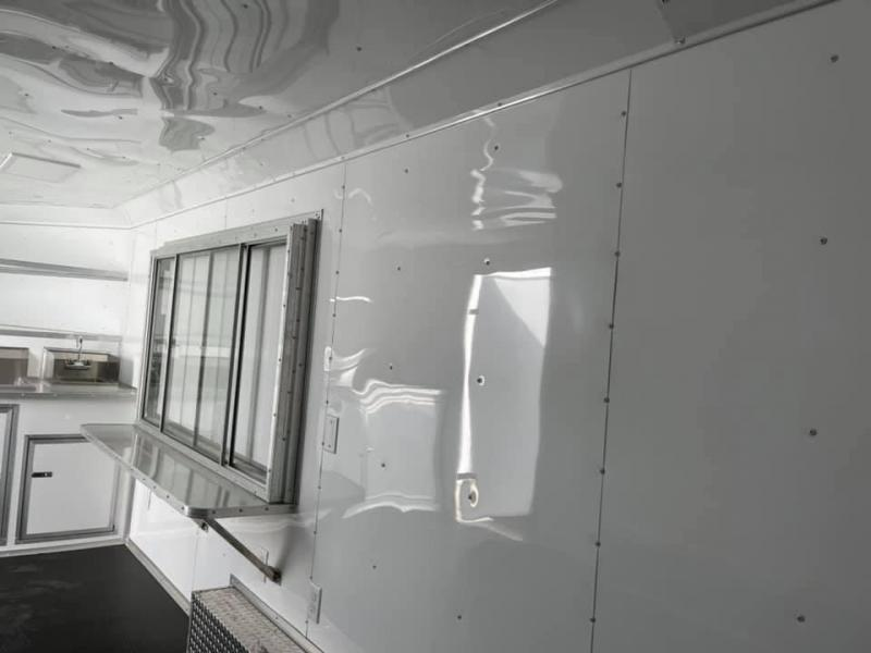2022 Other Concession Trailer 8.5x18 silver Vending / Concession Trailer