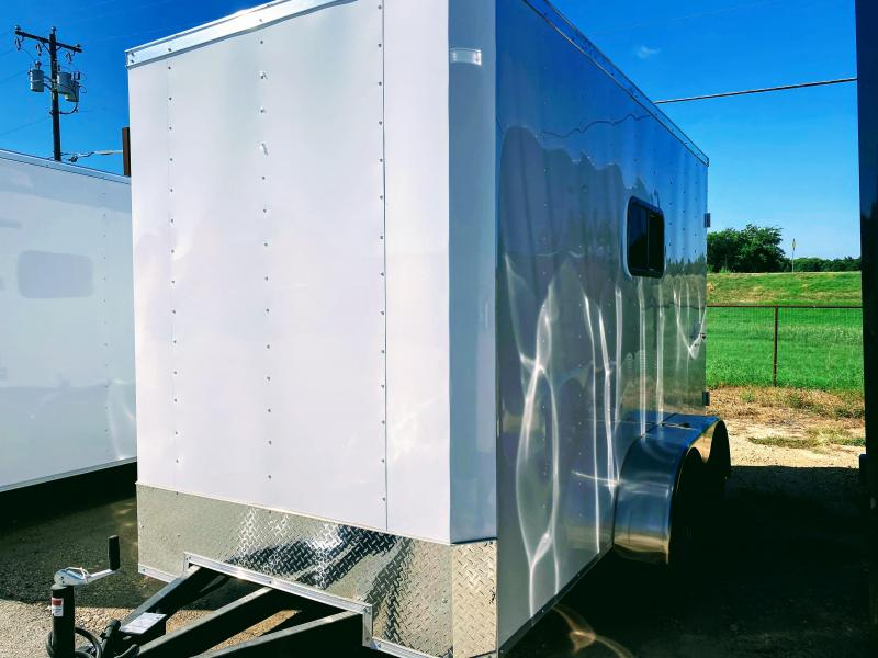 6X12TA Texas Mobile Dog Grooming Trailer