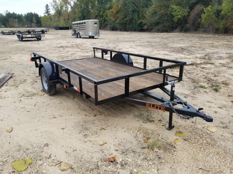 2021 Salvation Trailers 77X12 Utility Trailer
