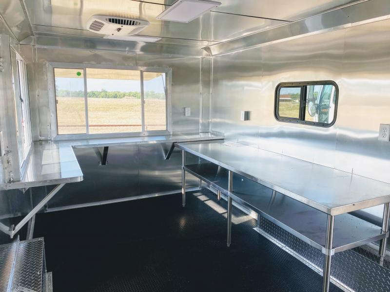 8.5X20TA Texas Vending / Food Concession Trailer