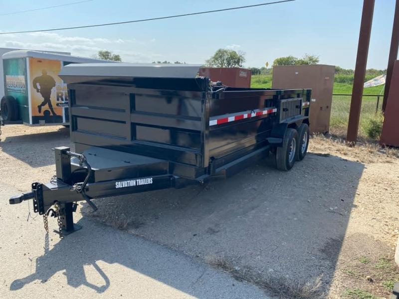 2021 Salvation Trailers 7X16 Dump Trailer Dump Trailer
