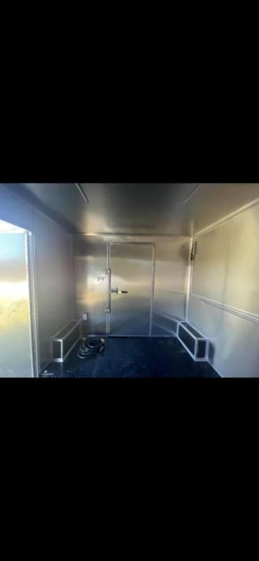2022  Silver 8.5x26 Vending / Concession Trailer w/ restroom