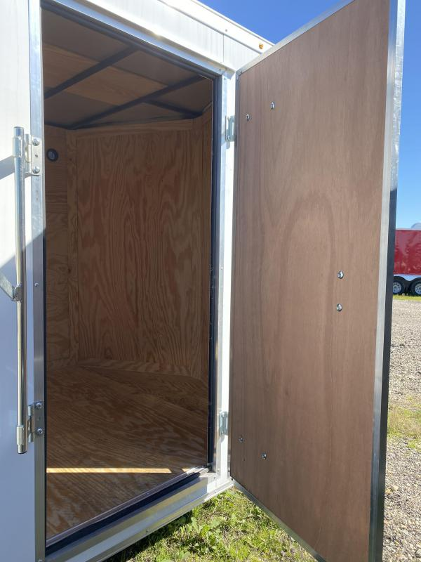 2020 Salvation Trailers 7X16TA-WHITE Enclosed Cargo Trailer
