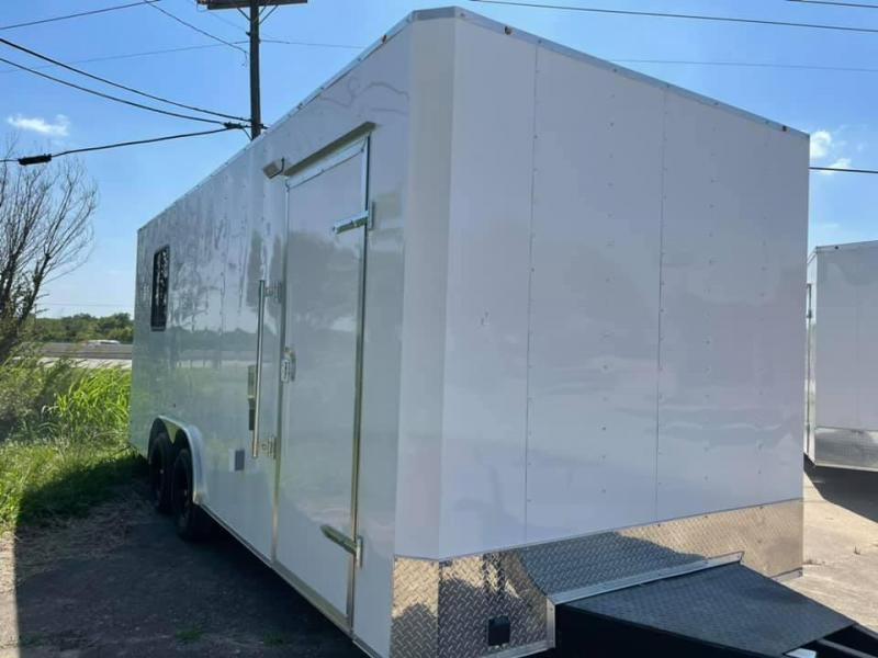 OFFICE TRAILER 8.5X20 Enclosed Cargo Trailer