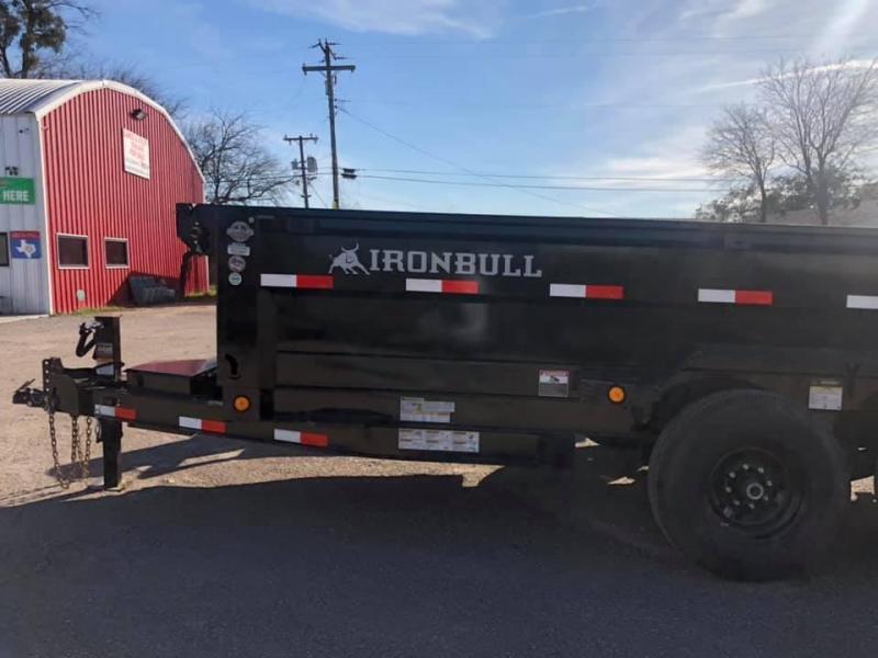 2021 Iron Bull IRONBULL DUMP TRAILER 7X14 Dump Trailer