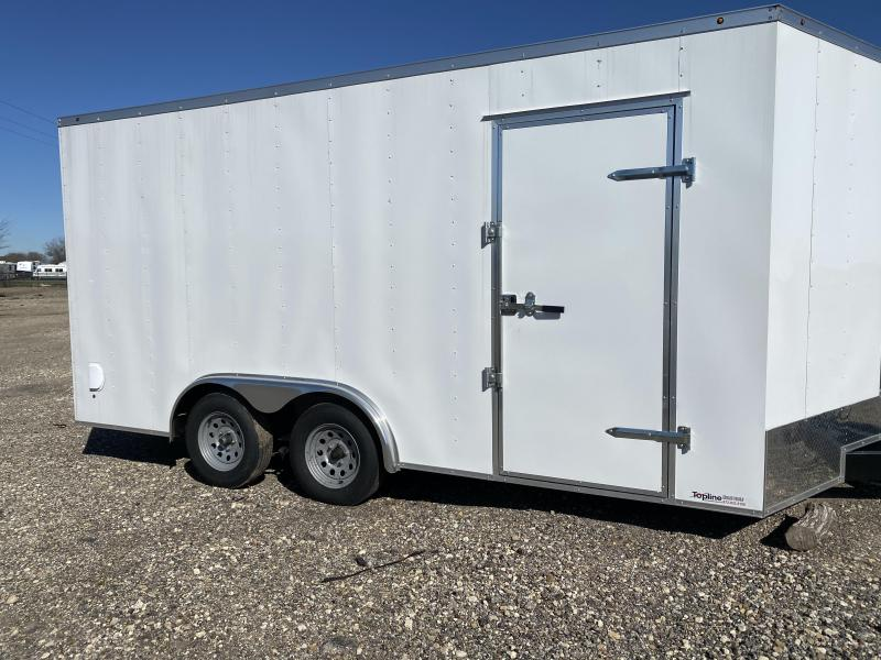 2020 Salvation Trailers 8.5X16TA-WHITE Enclosed Cargo Trailer